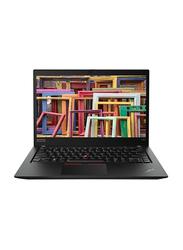 Lenovo ThinkPad T490s, 14 inch FHD IPS Touch Display, Intel Core i5 8th Gen 1.6GHz, 256GB SSD, 8GB RAM, Integrated Intel UHD 620 Graphics Card, AR KB, Business, Win 10 Pro 64, 20NX0009AD, Black