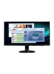 HP 23.8 Inch Full HD IPS LED Monitor, with VGA/DVI/HDMI Port, N246V, Black