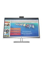 HP 23.8 Inch Full HD IPS LED Docking Monitor, 1TJ76AS#ABV, Silver/Black