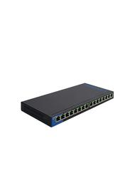 Linksys LGS116P 16Port Gigabit (8-Poe+) Switch , Black