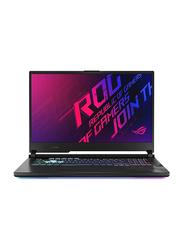 """ASUS Notebook G712LW Gaming Laptop, 17.3"""" FHD, Intel Core I7-10750H 10th Gen 2.6GHz, 1TB SSD, 16GB RAM, 8GB Nvidia GeForce RTX 2070 DDR4 Graphics, Windows 10, EN/AR Keyboard, G712LW-EV002T, Black"""