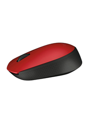 Logitech M171 Wireless Optical Mouse, Red