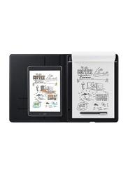 Wacom CDS-810G Bamboo Folio Tablet, Grey, Large