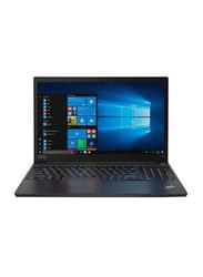 "Lenovo ThinkPad E15 Business Laptop, 15.6"" FHD Display, Intel Core i7-10510U 10th gen 1.8GHz, 512GB SSD, 8GB RAM, Intel UHD Graphics, EN-AR KB, Win 10 Pro, 20RD000KAD, Black"