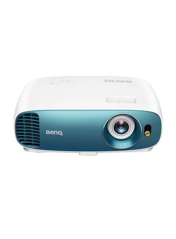 BenQ TK800M 4K DLP Home Entertainment Projector, 3000 Lumens, Blue/White