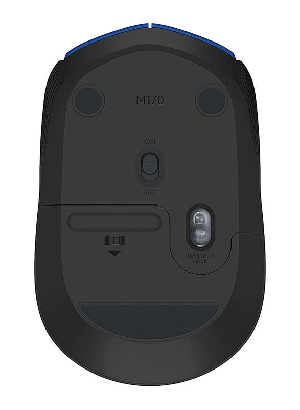 Logitech M171 Wireless Optical Mouse, Blue
