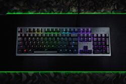 Razer Huntsman RZ03-02520100-R3M1 English Gaming Keyboard, Opto-Mechanical Switches, Black