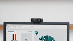 Logitech C920 Pro Full HD Web Camera, Black