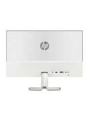 HP 24 Inch Full HD IPS LED Monitor, with VGA/HDMI Port, 24FW, 4TB29AS, White