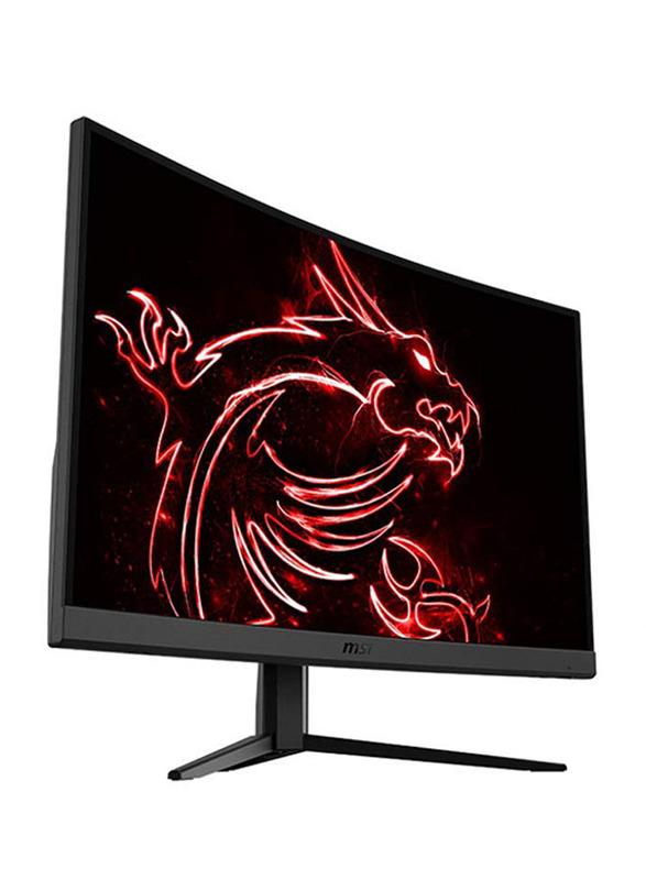 Msi Optix 27 Inch Curved Full HD LED 165Hz 1ms Gaming Monitor, G27C4, Black