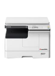 Toshiba E-Studio 2309A KA-2507PC All-in-One Printer with Platen Cover, White/Black