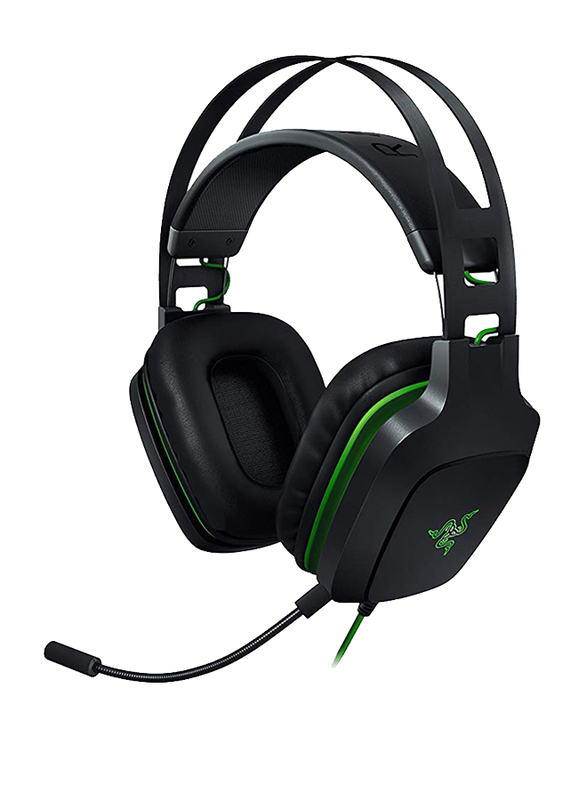Razer Electra V2 USB Over-Ear Gaming Headset with Mic, Black