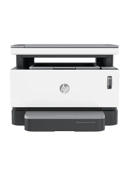 HP Neverstop Laser MFP 1200W 4RY23A All-in-One Printer, White/Black