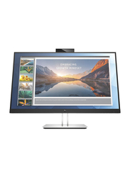 HP 23.8 Inch E24D G4 Full HD IPS LED Docking Monitor, 6PA50AS#ABV, Silver/Black