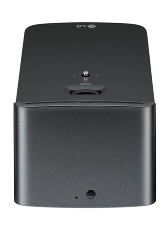 LG PF1000U Full HD DLP 3D Projector, 1000 Lumens, Ultra Short Throw, Wireless Screen Share/Bluetooth, Black