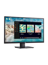 Dell 27 Inch LED Monitor, with VGA/HDMI/MM Port, E2720HS, Black