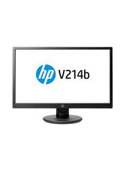 HP 20.7 Inch LED Computer Monitor, V214b, Black