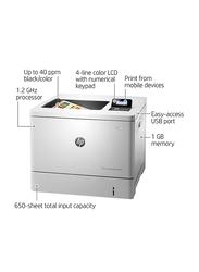 HP Color LaserJet Enterprise M553N B5L24A Laser Printer, White