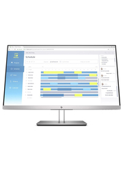 HP 27 Inch E273D LED Docking Monitor, 5WN63AS#ABV, Silver/Black