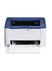 Xerox Phaser 3020BI SM15W Laser Printer, White/Blue