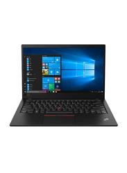 "Lenovo ThinkPad X1 Carbon Notebook Laptop, 14"" WQHD Display, Intel Core i7-8565U 8th Gen 4.6GHz, 1TB SSD, 16GB RAM, Intel UHD Graphics 620, EN-AR KB, Windows 10 Pro, 20QD002RAD, Black"