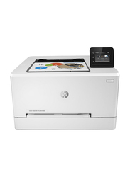 HP Color LaserJet Pro M254DW T6B60A Wireless Laser Printer, White