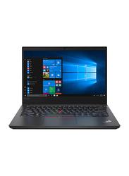 Lenovo ThinkPad E14 Laptop, 14 inch FHD Display, Intel Core i7-10510U 10th Gen 1.8GHz, 1TB HDD, 8GB RAM, AMD Radeon RX 640 2GB GDDR5, EN KB w/Touch Bar, Win 10 Pro, 20RA000PAD, Black