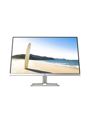 HP 27 Inch LED Computer Monitor, 27fw, Silver