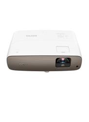 BenQ W2700 4K UHD DLP 3D Home Theatre Cinema Projector, 2000 Lumens, Brown/White