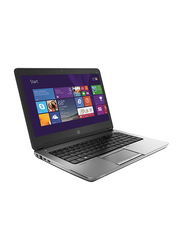 "HP EliteBook 820 G2 Notebook Laptop, 12.5"" HD Display, Intel Core i5-5200U 5th Gen 2.2GHz, 500GB HDD, 4GB RAM, Intel HD Graphics 5300, EN KB, Win 8.1 Pro, K0H02ES#ABV, Black"