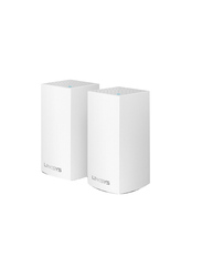 Linksys WHW0102 Velop AC2600 2 Pack, White