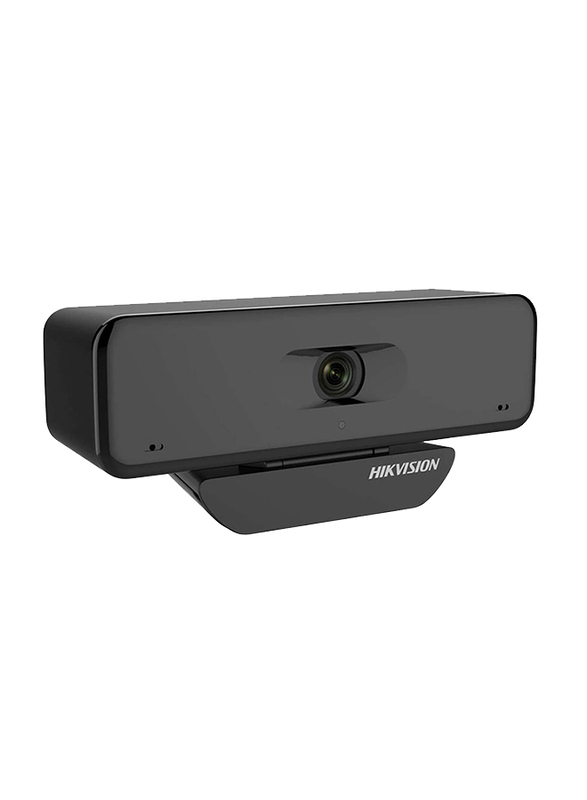 Hikvision DS-U18 4K USB Webcam, 8 MP, Black