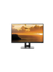 HP 23.8 Inch LED Computer Monitor, VH240a, Black