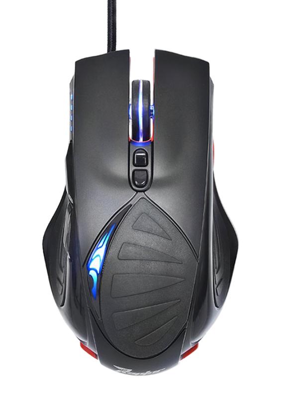 Gigabyte Raptor Force M63 Wired Optical FPS Gaming Mouse, Black