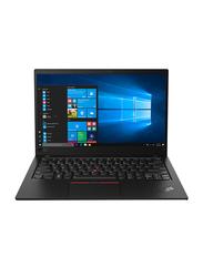 "Lenovo ThinkPad X1 Carbon Notebook Laptop, 14"" FHD Display, Intel Core i7-8565U 8th Gen 4.6GHz, 512GB SSD, 16GB RAM, Intel UHD Graphics 620, EN-AR KB, Windows 10 Pro, 20QD001JAD, Black"
