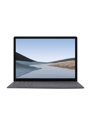 Microsoft Surface Laptop 3, 15 inch Touch, Intel Quad Core i7-1065G7 10th Gen 1.2GHz, 256GB SSD, 16GB RAM, Intel Iris Plus Graphics, EN-AR KB, Win 10 Pro, PLZ-00013, Platinum