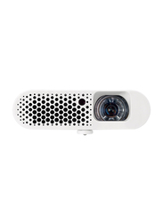 BenQ GS1 Full HD DLP 3D Wireless Portable All in One Projector, 300 Lumens, White