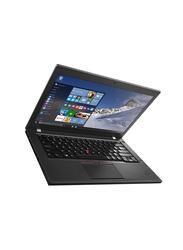 Lenovo ThinkPad T460 20FN000KAD, 14 inch, Intel Core i7-6600U 6th Gen, 512GB SSD, 8GB RAM, Integrated Intel UHD 620 Graphic Card, English Keyboard, Windows 10/Windows 7 Pro, Black