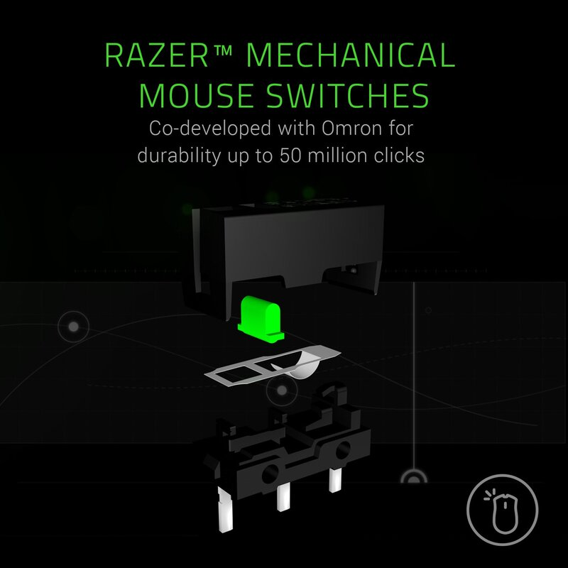 Razer Mamba Elite RZ01-02560100-R3M1 Wired Optical Gaming Mouse, Black