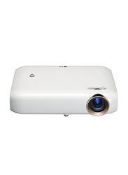 LG PW1500 HD LED 3D Minibeam Projector, 1500 Lumens, Wireless Screen Share/Bluetooth, White