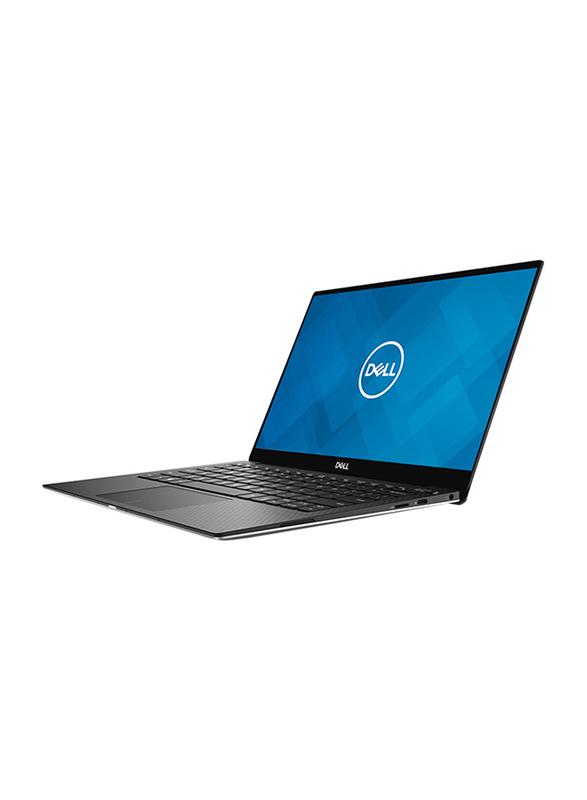 "Dell XPS 13 7390 NB Laptop, 13.3"" FHD Display, Intel Core i7-10510U 10th Gen 4.9GHz, 1TB SSD, 16GB RAM, Intel UHD Graphics, EN KB, Windows 10, Silver"
