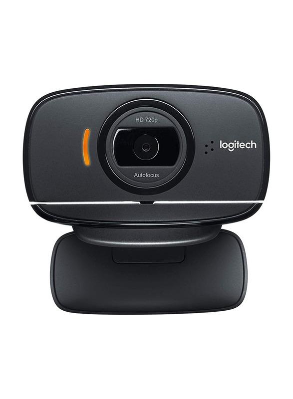 Logitech B525 HD Webcam, 2 MP, Black