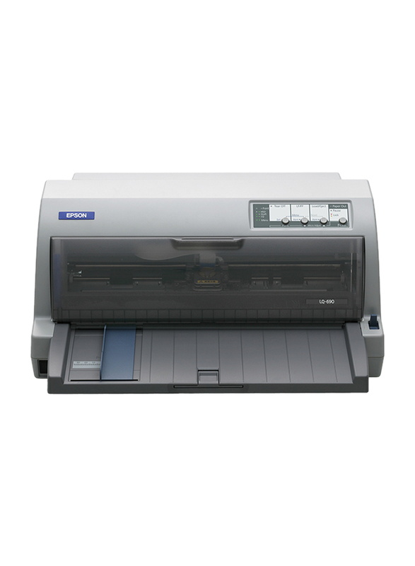 Epson LQ-690 Dot Matrix Printer, Grey