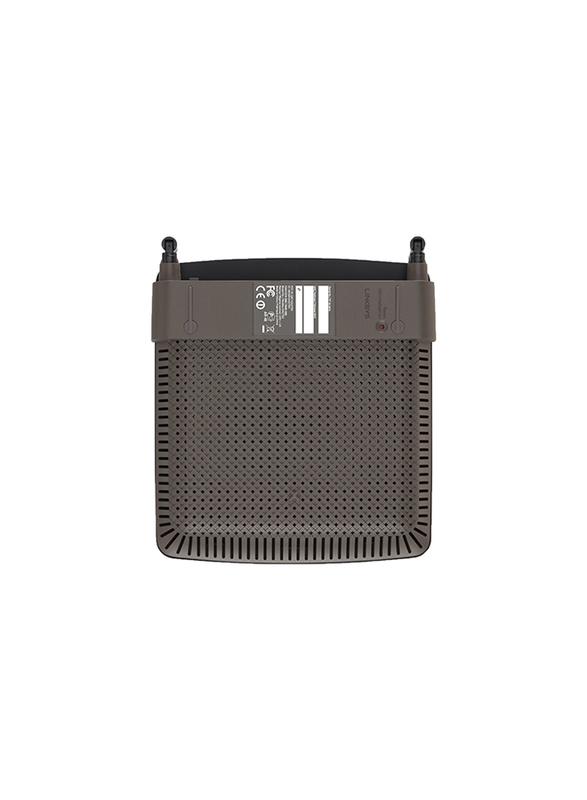 Linksys EA2750-EU Brodband Dual-Band N N600 Router, Black