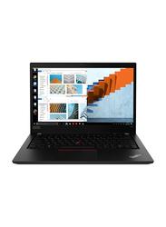 """Lenovo ThinkPad T490 Business Laptop, 14"""" FHD, Intel Core i7-8565U 8th gen 1.8GHz, 512GB SSD, 8GB RAM, NVIDIA GeForce MX250 2GB Graphics, EN-AR KB, Win 10 Pro, 20N2004JAD, Black"""