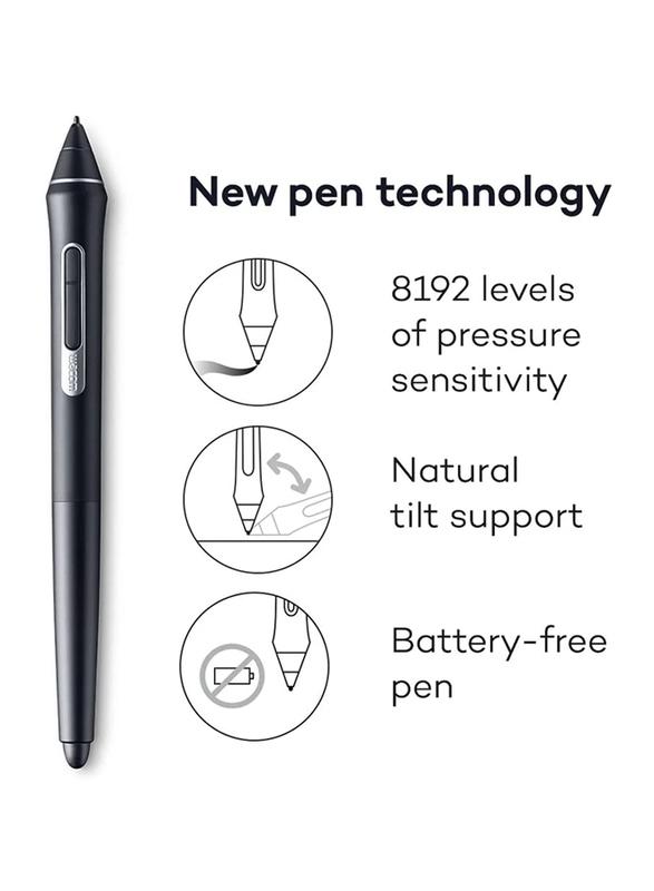 Wacom PTH-860-N Intuos Pro North Tablet, Black, Large