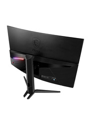 Msi Optix 31.5 Inch Curved Full HD LED 180Hz 1ms Gaming Monitor, MAG322CR, Black