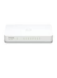 D-Link DGS-1008A 8 Port Gigabit Switch , White