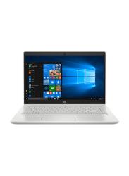"HP Pavilion 14-CE3007NE Notebook Laptop, 14"" FHD, Intel Core i5-1035G1 10th Gen 1.0GHz, 512GB SSD, 8GB RAM, NVIDIA GeForce MX130 2 GB GDDR5 Graphics, EN KB, Win 10, 9YL62EA, Silver"