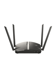 D-Link DIR-1360 Mesh Wifi Router AC1300, Black
